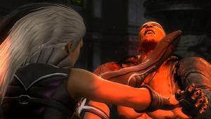Sindel kills Jaxs