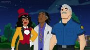 Charlie, Doc Greene and Maura
