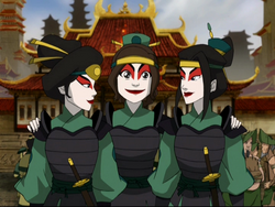 Ty Lee is Kyoshi Warrior now