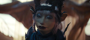 Evil queen seladon