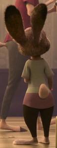 Judy seeing animal people