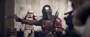 Mandalorian VS Stormtroopers