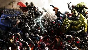 The avengers age of ultron comic con poster by professoradagio