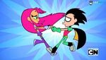 Teen Titans Go! Robin and Starfire Loveness with these two