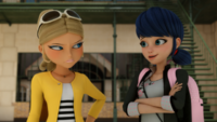 Chloé and Marinette