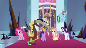Discord calling Fluttershy his favorite S9E2
