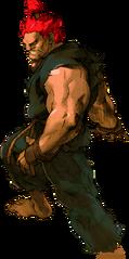 Street Fighter - Akuma as he appears in Marvel VS Capcom 2