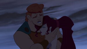 Hercules crying