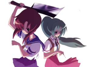 Higurashi render by xyanderegirl-d4si4ma