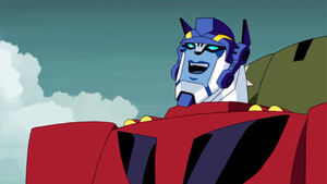 Optimus is happy (Animated)