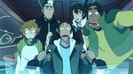Team Voltron in the Space