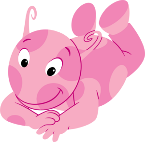 The Backyardigans Uniqua Lying Down Nickelodeon Character Image