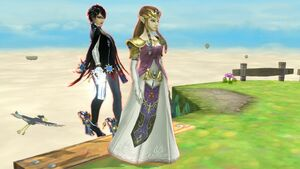 Zelda and bayonetta by user15432-dagkq1n