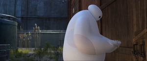 Baymax Arrive In Destination