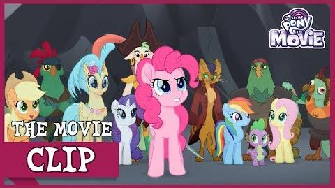 Capper, The Pirates and Skystar Join The Ponies For Battle My Little Pony The Movie Full HD