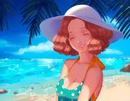 Haru Okumura- Swimsuit