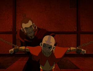Imprisoned Aang