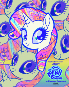 MLP The Movie Rarity '8weeks' poster