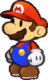 PMTTYD Mario Idle Sprite