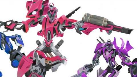 ARCEE sisters Transform - Short Flash Transformers Series