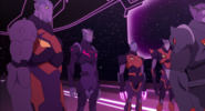 Thace and Galra Commanders