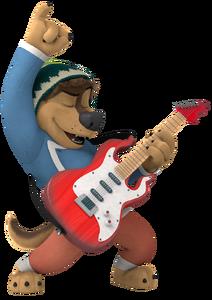 Bodi 3 rock dog