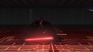 Darth Vader crouch