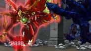 Drago attacking Bakuzoned Hydranoid