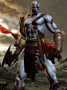 GOW III Kratos