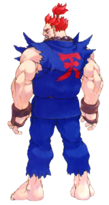 Street Fighter - Akuma as seen in Street Fighter Alpha