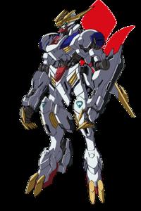 ASW-G-08 Gundam Barbatos Lupus Rex (Front)