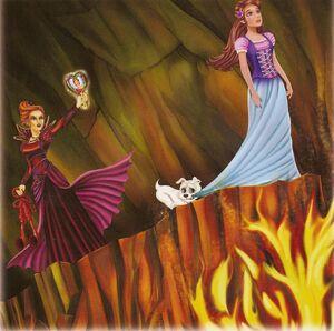 Barbie & The Diamond Castle Book Scan 2
