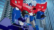Optimus Prime with Hi-Test