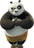 Po from DreamWorks Animation's Kung Fu Panda-1-