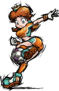 Strikers Daisy Artwork