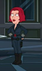 Black widow family guy universe