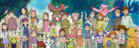DigiDestinds with their Digimon Parters and Future Childrens