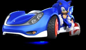 Sonic and sega all stars racing sonic