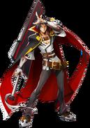 Kagura Mutsuki (Centralfiction, Character Select Artwork)