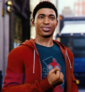 Miles Morales from MSM screen