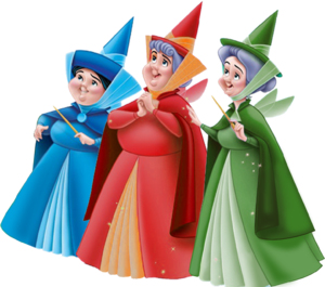 Flora Fauna and Merryweather