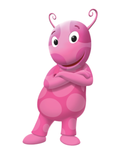 The Backyardigans Uniqua Cross-Armed Nickelodeon Nick Jr. Character Image