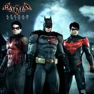 Bat-family trio