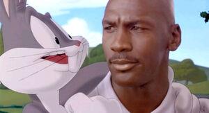 Bugs Bunny with Michael Jordan