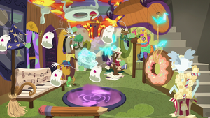 Discord in his house of chaos S7E12