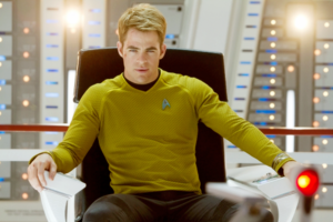 James T. Kirk- Chris Pine