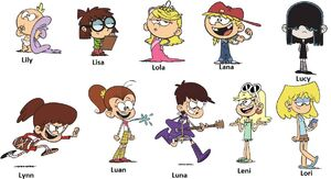Who is your favorite loud house sister by dlee1293847 dddwsa2-pre