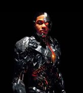 Cyborg Justice League Textless Poster