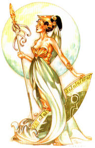 Deities and Demigods Athena