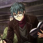 Machias studying